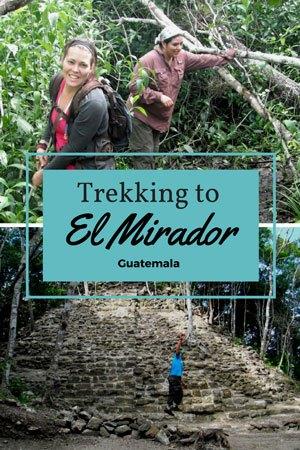 Trekking to El Mirador, Guatemala