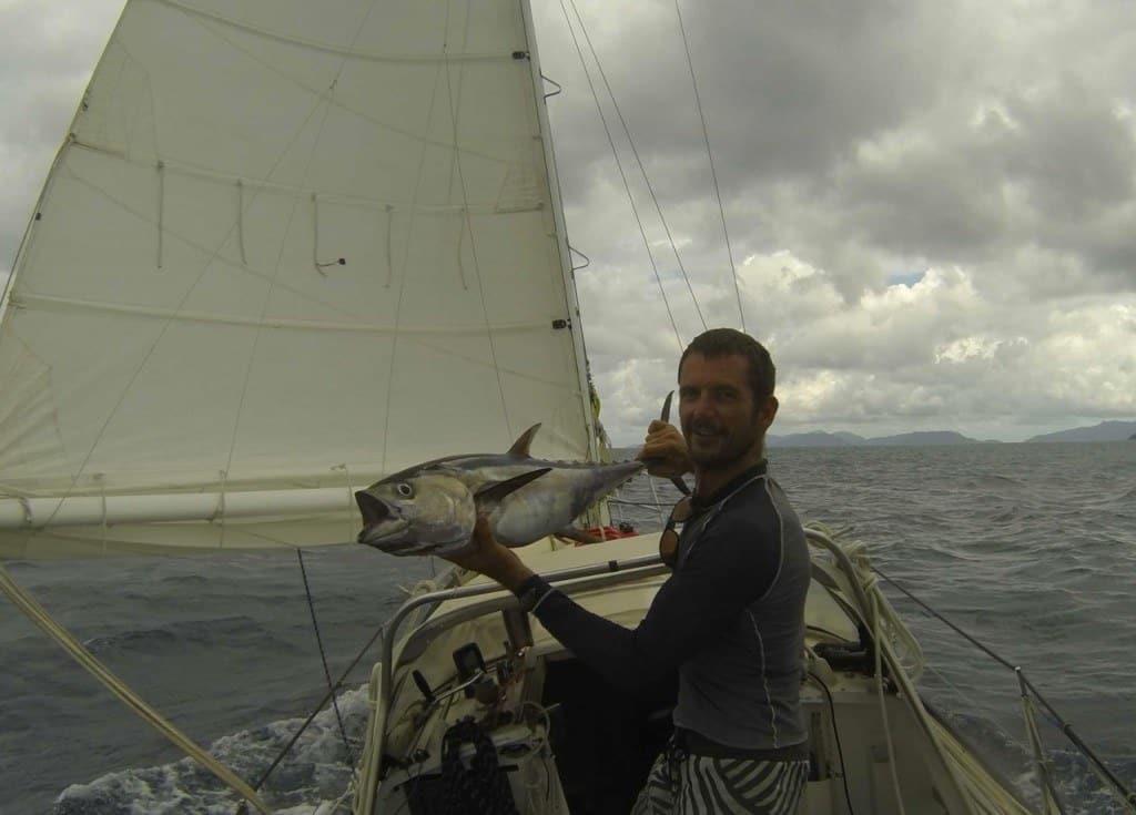 Troy And His Tuna! Sailing