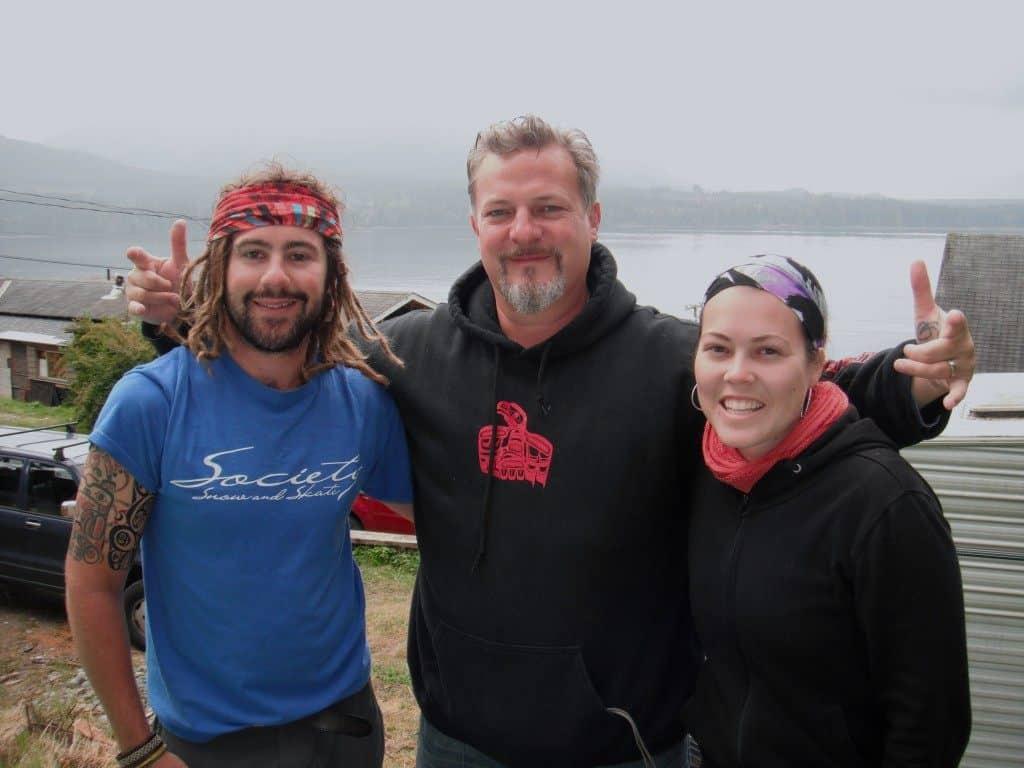 Bart Willis Jarryd Salem Alesha Bradford Orca Haida Killer Whale Tattoo