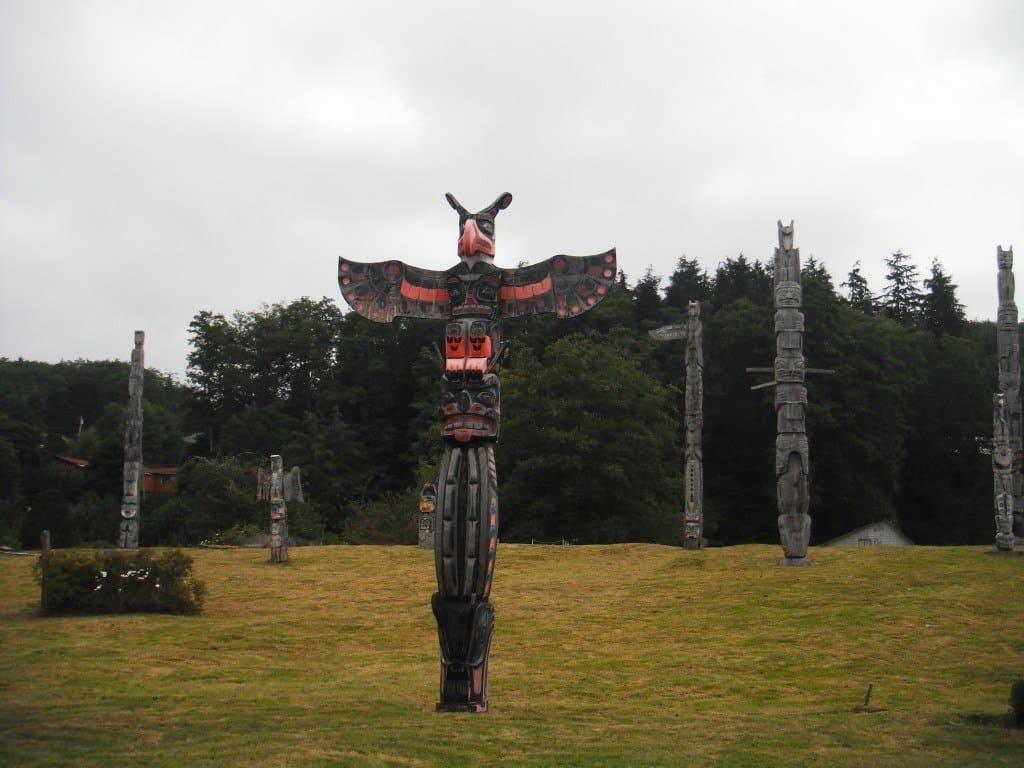 Alert Bay Totem Poles Orca Haida Killer Whale Tattoo