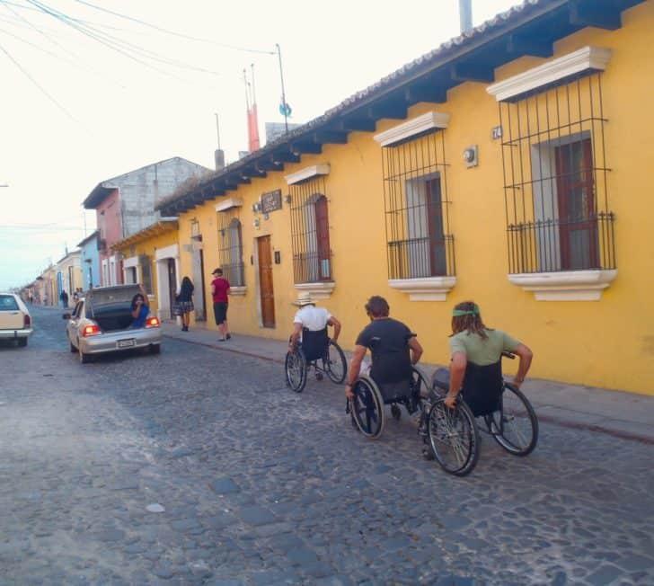 The Great Antigua Wheelchair Race