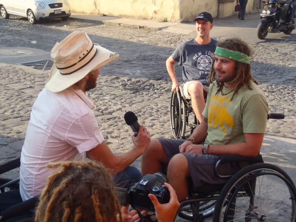 Wheelchair Interview