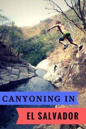 Canyoning In El Salvador. Things To Do In El Salvador