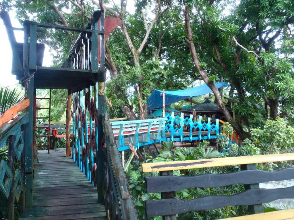 Treetanic Utila Honduras