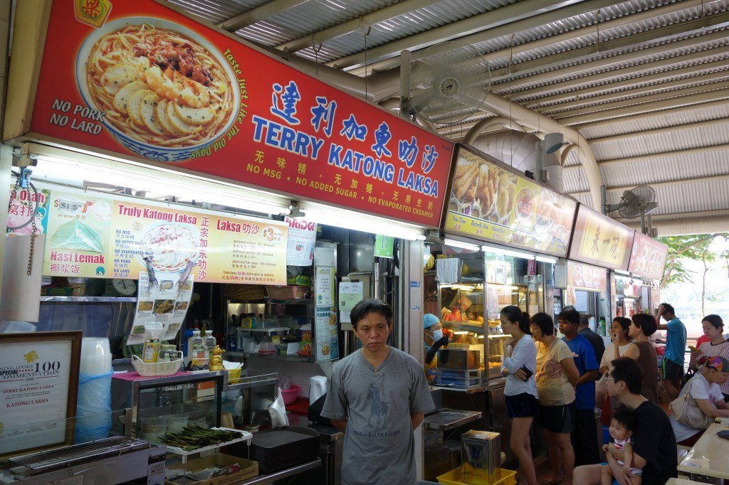 Hawker Centre Singapore Backpacking In Singapore On A Budget