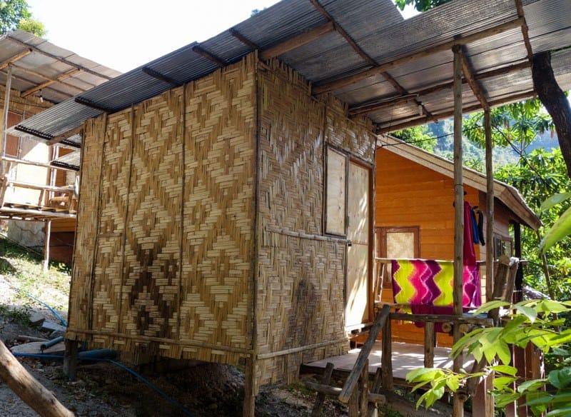 Cheap Bamboo Bungalows Ton Sai Bay Beach