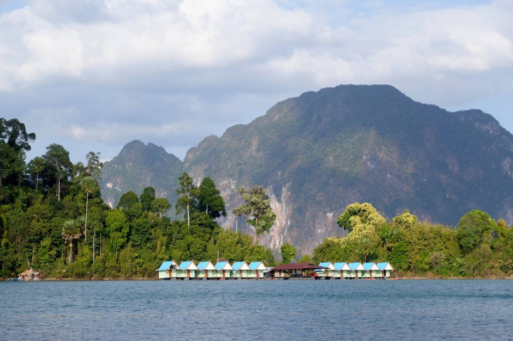 Our floating accommodation in Cheow Lan lake, Khao Sok.