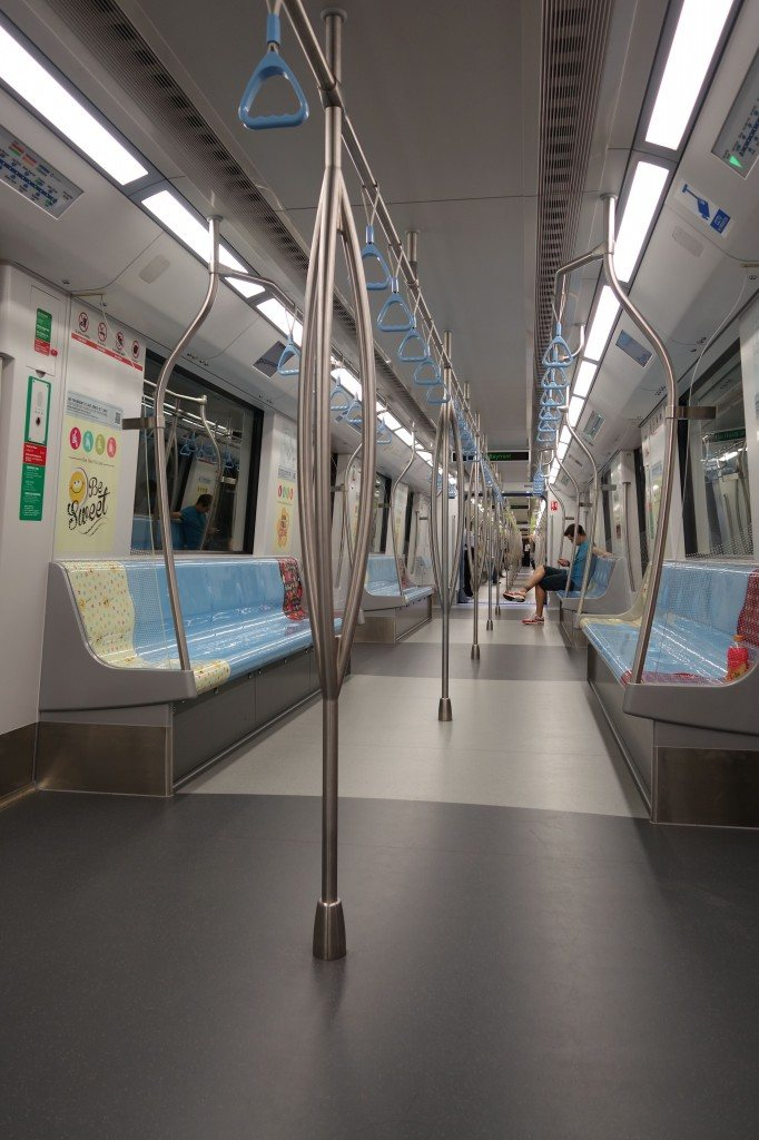 MRT Backpacking In Singapore On A Budget