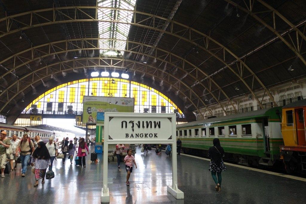 The Final Destination Of Bangkok! Chumphon To Bangkok Train