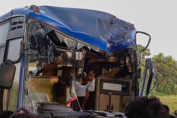 Bus Crash Man