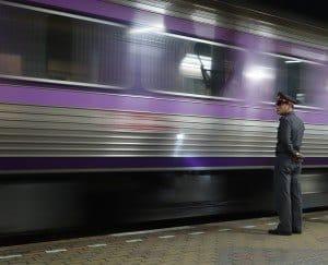 Guard Chumphon To Bangkok Train