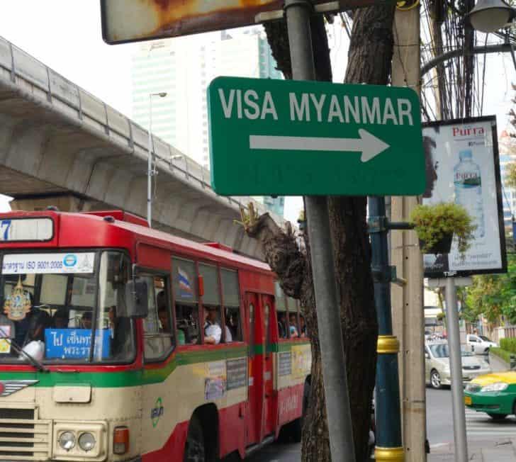 How To Get Your Myanmar Visa In Bangkok