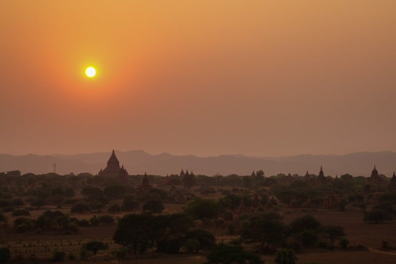 Sunset Temples