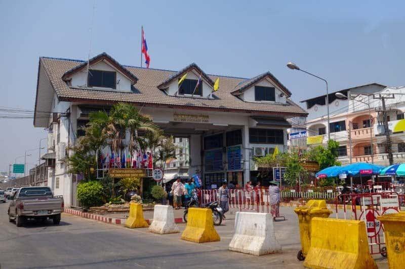 The Thailand/Myanmar (Burma) Border Myawaddy Mae Sot