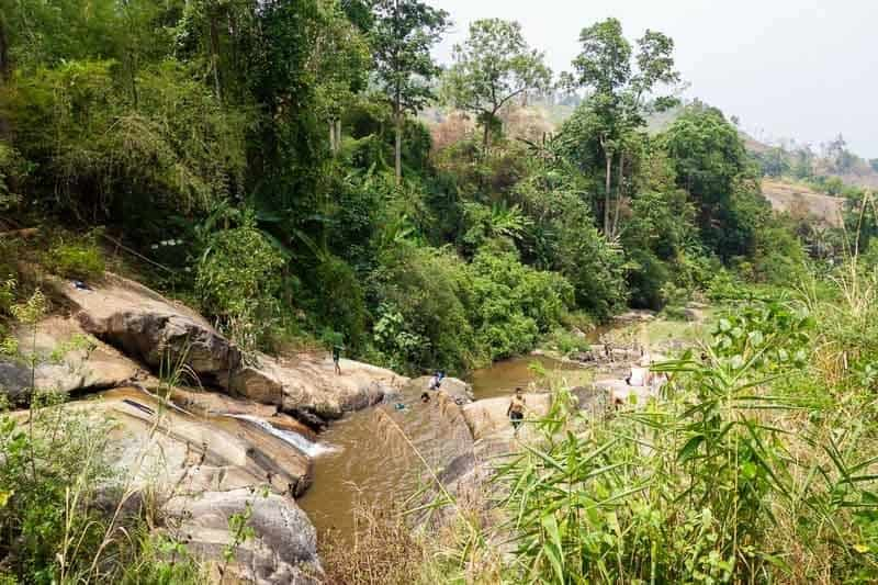 Mo Paeng Waterfalls. Things to do in Pai Thailand