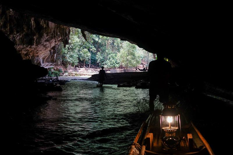 Inside the Tham Lod Cave What Best Things To Do In Pai Thailand