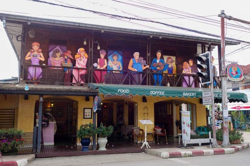 The bakery. What Best Things To Do In Pai Thailand