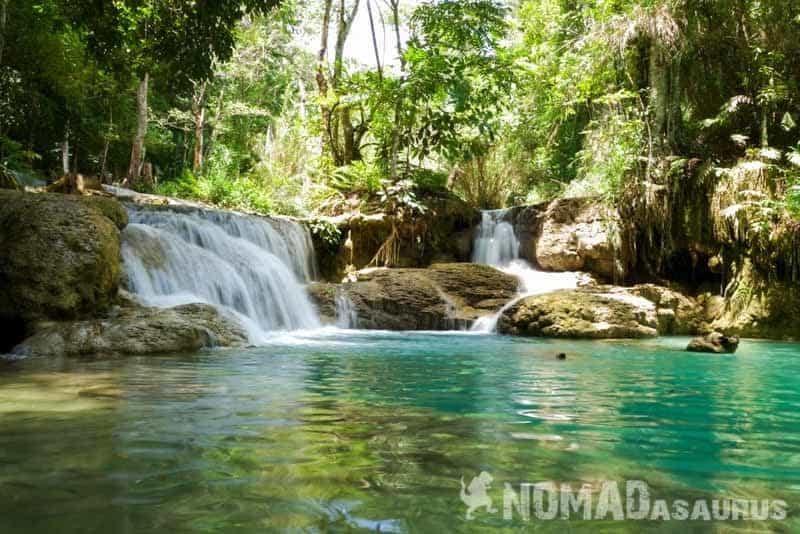 Kaung Si Waterfalls
