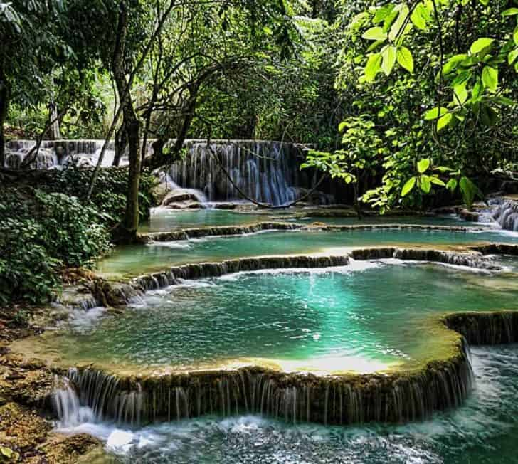 How to Visit Kuang Si Falls in Luang Prabang, Laos in 2021
