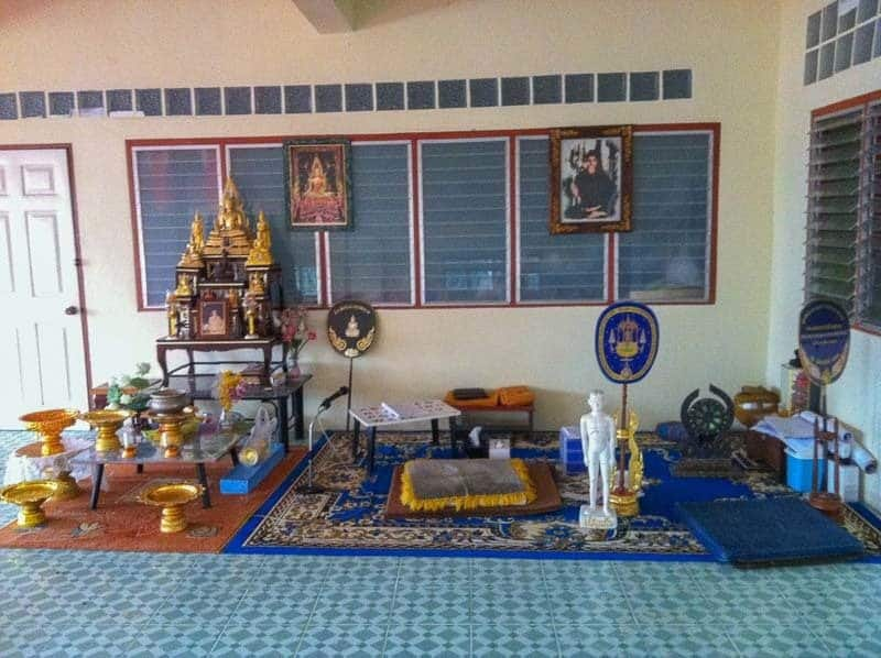 Monks Position Vipassana Meditation Course Chiang Mai Thailand