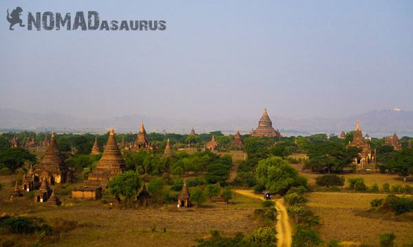 Bagan temples Myanmar 6 months