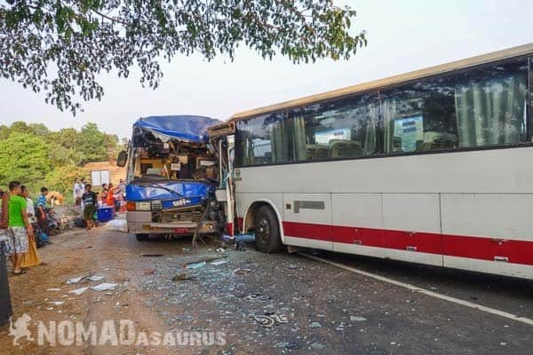 Bus crash Myanmar 6 months