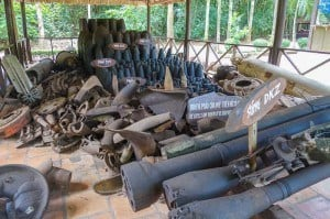 Some Of The Shrapnel Cleaned Up From The War. Withlocals