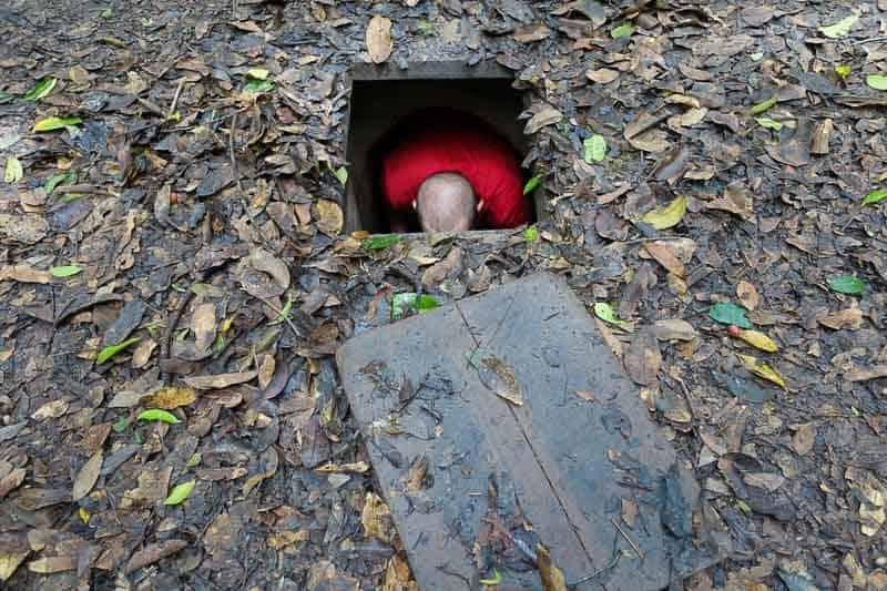 Kết quả hình ảnh cho cu chi Tunnels