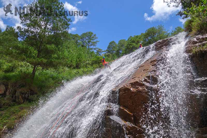Canyoning In Dalat - What It Is Really Like - NOMADasaurus Adventure Travel Blog