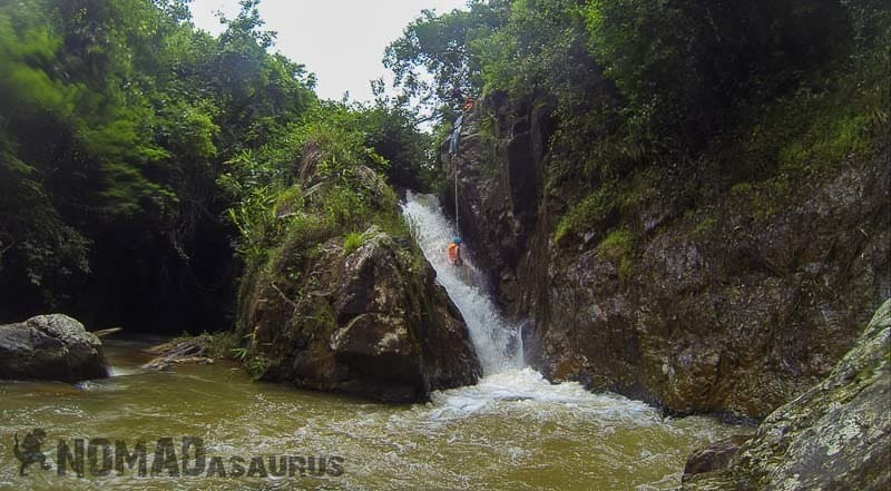 In the Washing Machine. Canyoning in Dalat.