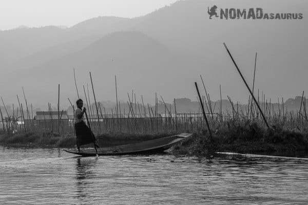 Fisherman Inle Lake people of Myanmar