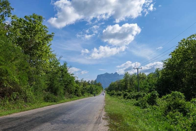 The Laos motorcycle adventures.