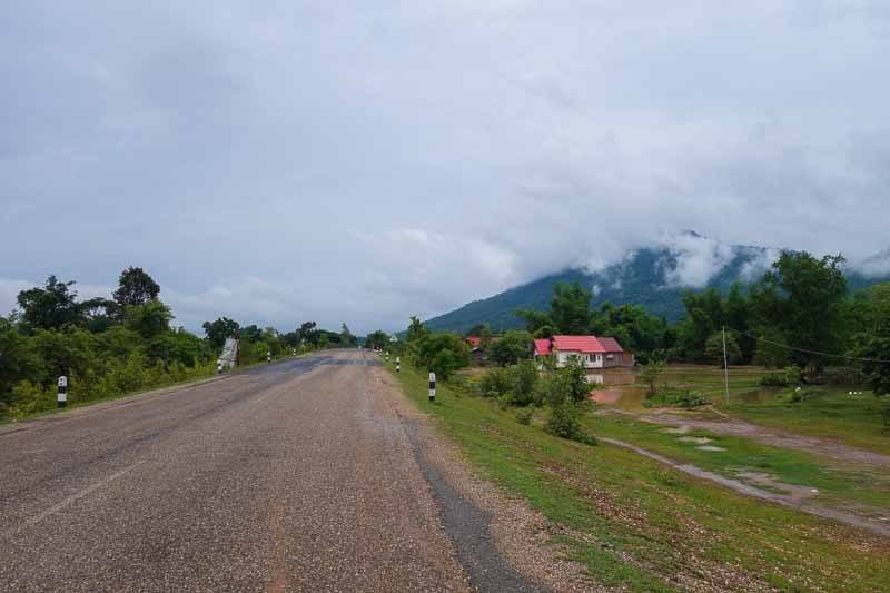 Straight Roads. Laos Motorcycle Adventure
