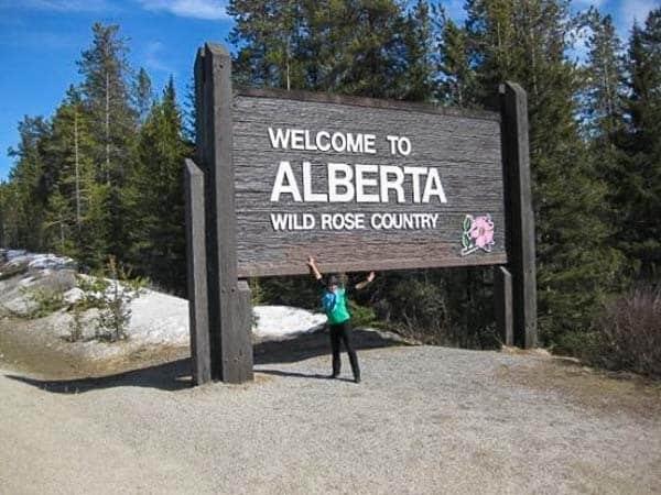 Lesh Alberta Canada road trip.