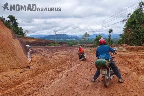 Motorcycle adventure Thakhek loop Laos 6 months.