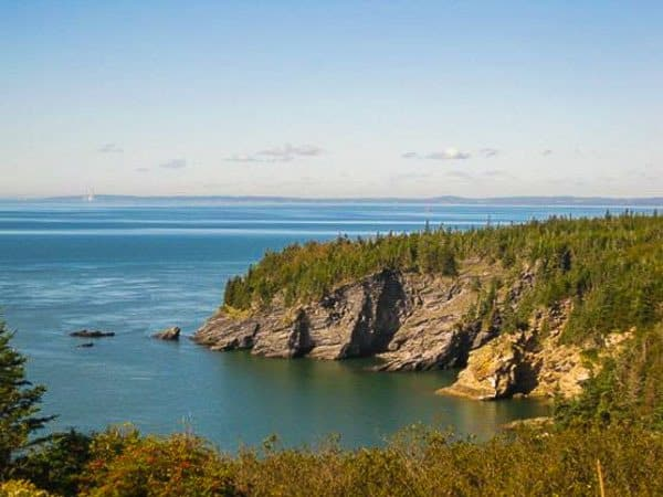 Bay Of Fundy New Brunswick Canada Road Trip