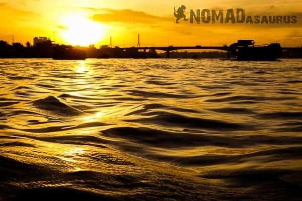 Sunrise Mekong River Vietnam