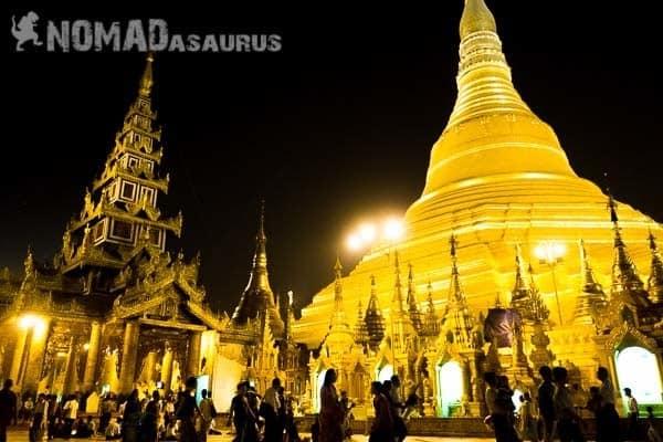 Shwedagon Pagoda Yangon Myanmar 6 Months