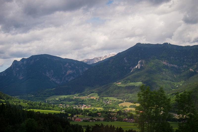 Slovenia to Austria. Train travel in Europe
