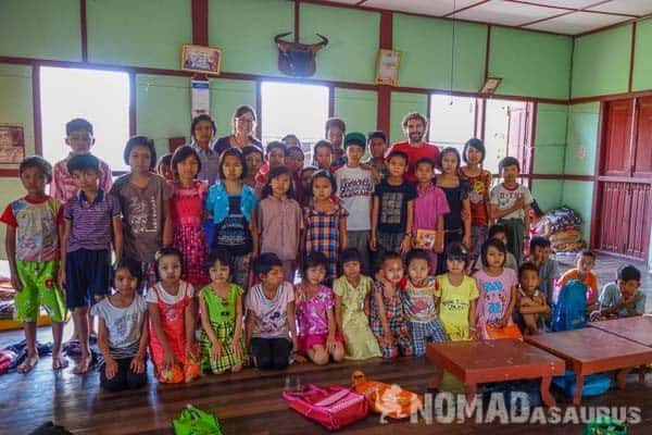 Teaching English Mandalay Myanmar