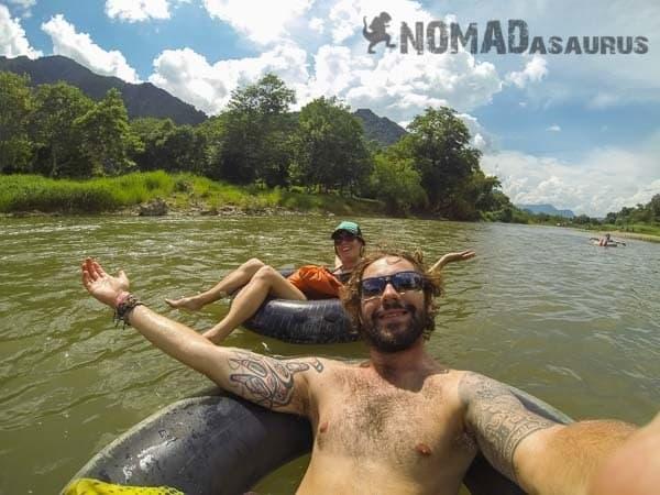 Tubing Vang Vieng Laos 6 months