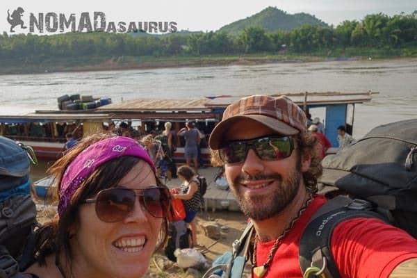 Slow Boat Thailand To Luang Prabang Laos 6 Months