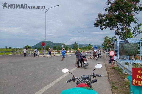 Chau Doc Phnom Den Crossing The Border With A Motorbike Laos Cambodia Vietnam Thailand Southeast Asia Experience