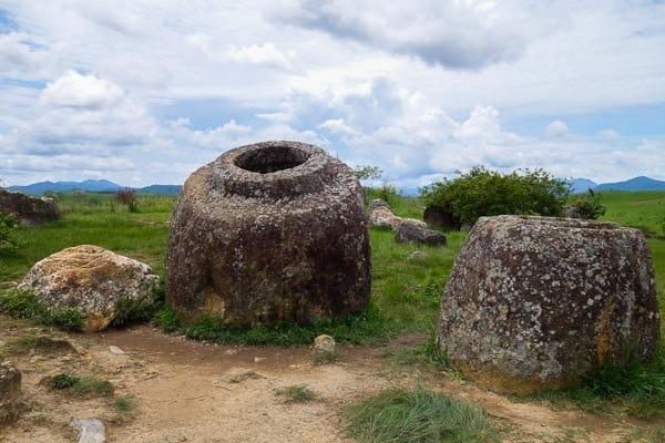 Largest Jar Site 1 Plain Of Jars Phonsavan Laos