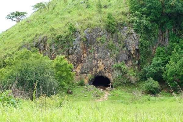 Cave Site 1 Plain Of Jars Phonsavan Laos