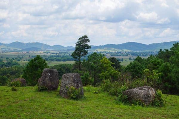 On The Hill Site 2 Plain Of Jars Phonsavan Laos
