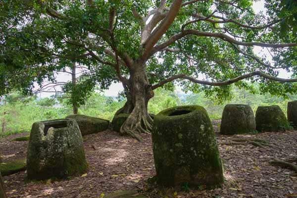 Site 2 Plain Of Jars Phonsavan Laos