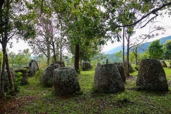 Site 3 Again Plain Of Jars Phonsavan Laos