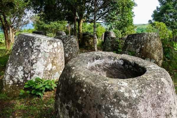 Big Jars Site 3 Plain Of Jars Phonsavan Laos