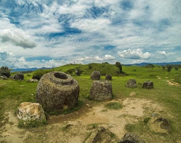 Plain Of Jars Phonsavan Laos